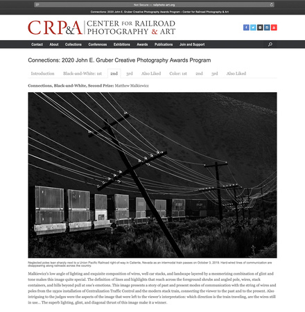 """Center for Railroad Photography & Art"""